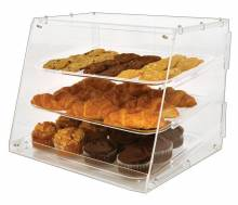 "20"" Acrylic Display Case with 3 Trays 