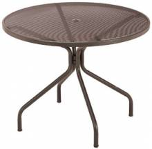 "Cambi, 48"" Round Top Table with umbrella hole  Cambi 805 