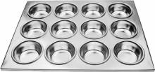 12 Cup Aluminum Muffin Pan | Smallwares | Zanduco US