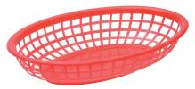 "Discontinued - 9.5"" Basket Red Oval 80742 