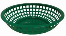 "8"" Basket Black Round 80751 