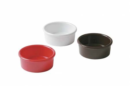 3 oz Red Ramekin - Smooth 9361 | Bar Service & Tablewares | Zanduco US