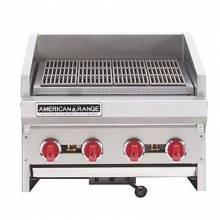 "American Range ADJ-24 24"" Countertop Adjustable Top Gas Radiant Broiler 80,000 BTU 
