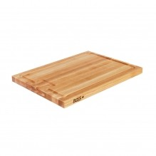 "John Boos Wooden Cutting Board 24"" X 18"" X 1-1/2"" with Au Jus Groove  AUJUS 