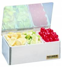 San Jamar Garnish Tray-Non-Chilled  B4093L | Smallwares | Zanduco CA