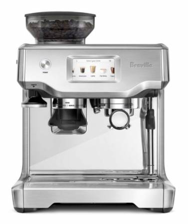 Breville BES880BSS The Barista Touch Automatic Espresso Machine with Frother and Coffee Grinder - Silver | Bar Service & Tablewares | Zanduco US