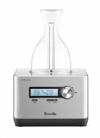 Breville BWD600SIL The Sommelier Purified Oxygenation System | Refrigeration Equipment | Zanduco US