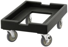 Cambro CD1826PDB110 Camdolly Pizza Dough Box - Black | Smallwares | Zanduco US