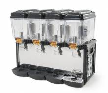 Cofrimell CD4J - Double Head Refrigerated Juice Dispenser - 4 x 12 L | Bar Service & Tablewares | Zanduco US