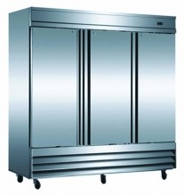 "Zanduco 81"" Triple Door Reach-In Freezer"