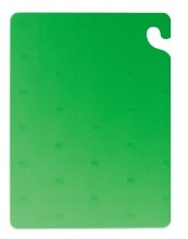 San Jamar Cut-N-Carry Color Cutting Board, Green  CB182434GN | Smallwares | Zanduco CA