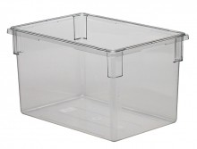 Cambro 182615CW Food Storage Container,Square,Camwear, Clear22Gal.Case Pack 3 |  | Zanduco CA