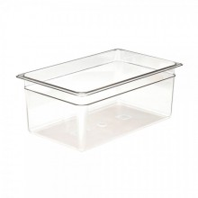 Cambro 18CW Food Pan - Camwear - Polycarbonate - Clear - Full Size    Case Pack 6 |  | Zanduco CA