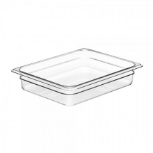 Cambro 22CW Food Pan - Camwear - Polycarbonate - Clear - 1/2 Size    Case Pack 6 |  | Zanduco CA