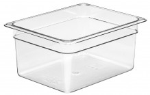 Cambro 26CW Food Pan - Camwear - Polycarbonate - Clear - 1/2 Size    Case Pack 6