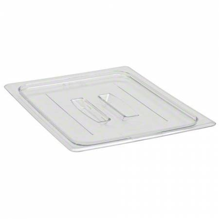 Cambro 20CWCH Food Pan Lid - Camwear - Polycarbonate - Clear - with Handle    Case Pack 6 | Smallwares | Zanduco CA