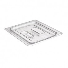 Cambro 60CWCH Food Pan Lid - Camwear - Polycarbonate - Clear - with Handle    Case Pack 6 |  | Zanduco CA