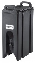 Cambro 86X7oz Cups Insulated Beverage Server,Camtainers,Black 500LCD Case Pack 1 | Smallwares | Zanduco US