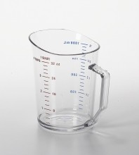 1 QT Cambro Measuring Cup  Clear 100MCCW  |  | Zanduco CA