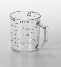 1C Cambro Measuring Cup Clear 25MCCW  |  | Zanduco CA