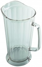 64oz Cambro Water Pitcher Camwear Clear P64CW   Case Pack 6 | Bar Service & Tablewares | Zanduco US