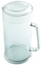 64oz Cambro Water Pitcher  with Lip Camwear Clear PC64CW   Case Pack 6 | Bar Service & Tablewares | Zanduco US