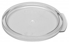 Cambro Food Storage Lid - Fits  RFSCWC1 Round - Camwear - Poly - Clear -    Case Pack 12 |  | Zanduco CA