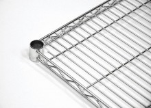 "Zanduco Heavy Duty Commercial Chrome Shelf 14"" X 24""  