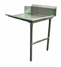 "Zanduco 26"" Right Side Clean Dish Table 