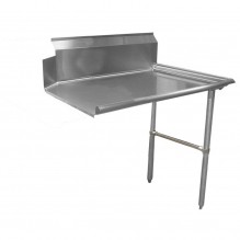 "Zanduco 48"" Right Side Clean Dish Table 