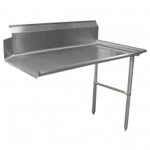 "Zanduco 60"" Right Side Clean Dish Table 