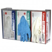 San Jamar Disposable Glove Dispenser, 3 box capacity  G0805 | Janitorial Supplies  | Zanduco US