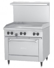 "Garland G36-G36R Starfire Pro Series Gas, 36"" W, Griddle Plate 