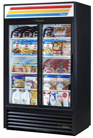 True GDM-41-HC-LD Glass Slide Door Refrigeration Merchandiser | Glass Door Merchandisers | Zanduco CA