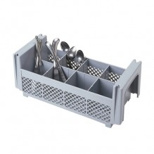 Cambro 8FBNH434  8Compartment 1/2 Flatware Basket/No Handles Case Pack 6 | Sinks & Dish Room | Zanduco CA