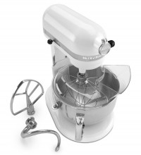 KitchenAid 4KP26M1XWH Professional 600™ 6 Quart Bowl-Lift Stand Mixer
