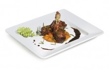 "Milano™ 12"" x 10"" Rectangular Plate, .75"" Deep,12 / case  ML-11-W 