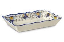 "Santa Lucia™3.1 qt., 13.75"" x 9.5"" Tray, 2.5"" Deep, 6ea/case  ML-88-SL 