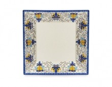 "Santa Lucia™12"" Square Plate, 6ea/case  ML-90-SL 