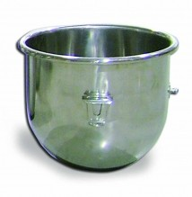 20 Qt Replacement Stainless Steel Bowl for Hobart Mixer | Restaurant Equipment | Zanduco US