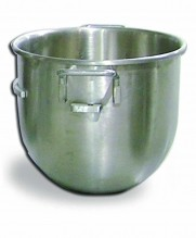 30 Qt Replacement Stainless Steel Bowl for Hobart Mixer | Kitchen Equipment | Zanduco US