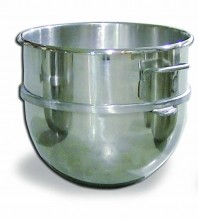 60 Qt Replacement Stainless Steel Bowl for Hobart Mixer | Restaurant Equipment | Zanduco US
