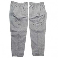 Hounds Tooth, Cargo Pants, 100% Cotton  P023HT |  | Zanduco US