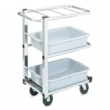 Vollrath Cantilever Bussing Cart | Material Handling Transport & Storage | Zanduco CA