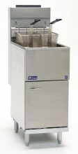 Pitco 40C+ Gas Fryer (40-45 lb  Oil Capacity) 105,000 BTU | Kitchen Equipment | Zanduco US