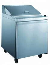 "Zanduco 27"" Refrigerated Prep Table 