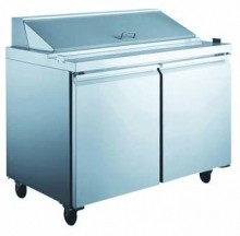"Refrigerated 48""  Prep Table"