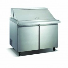 "Zanduco 60"" Mega Refrigerated Prep Table 