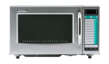 Sharp R-21LVF Medium Duty Commercial Microwave -1000 Watts  | Kitchen Equipment | Zanduco US
