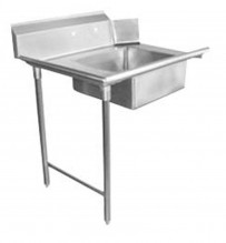 "Zanduco 36"" Left Side Soiled Dish Table with Sink 